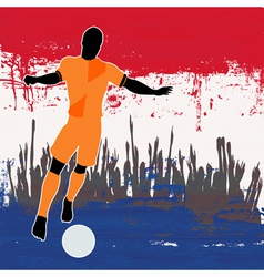 Football Netherlands vector image