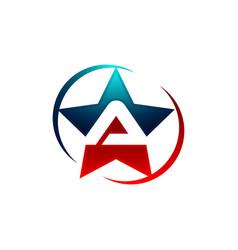 Letter a logo templateletter a logo template vector