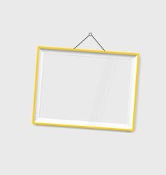 Modern frames on the wall vector