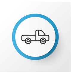 Pickup icon symbol premium quality isolated vector