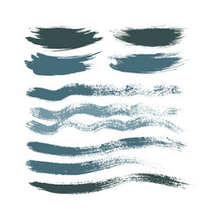 stains brush strokes background for design cold vector image