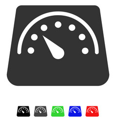 weight meter flat icon vector image