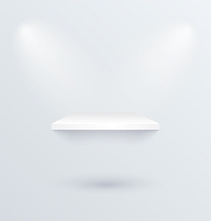 white podium to place product vector image