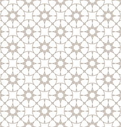 Abstract delicate seamless pattern with stylized vector image vector image