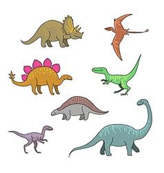 Dinosaurus vector image vector image