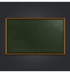 Blackboard school vector image