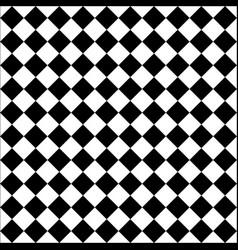 Seamless diagonal chess board vector