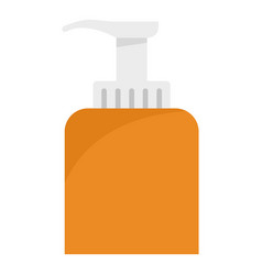 soap dispenser icon flat style vector image