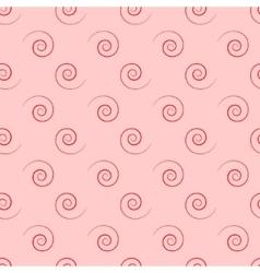 Spiral geometric seamless pattern vector