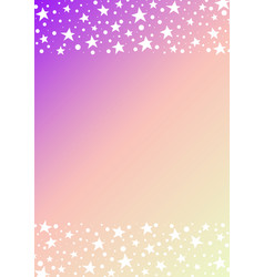 star and dot space frame abstract background vector image
