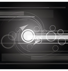 gray and white abstract vector image vector image