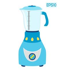 kitchen blender mixer machine to make drinks vector image
