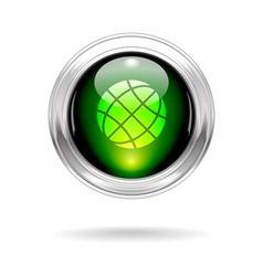 globeShiny vector image