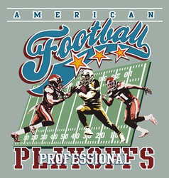 American football playoff vector