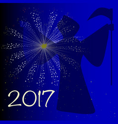 Auld lang syne 2017 vector