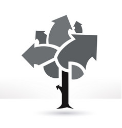 business tree vector image