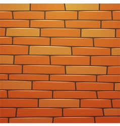 Cartoon brick wall vector