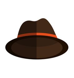 Classic hat icon imag vector