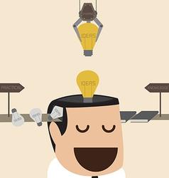 Idea factory vector image