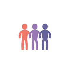Isolated avatars profiles design vector