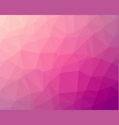 Pink polygon background vector