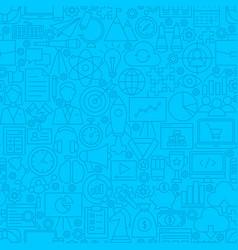 Startup line tile pattern vector