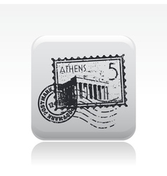 athens icon vector image