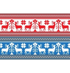 Set of Ethnic holiday ornament pattern in vector image vector image