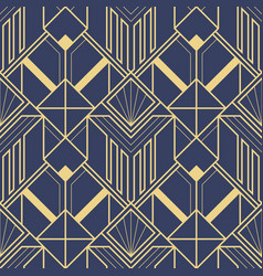 abstract art deco geometric pattern vector image