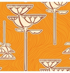 background from flower branch vector image vector image