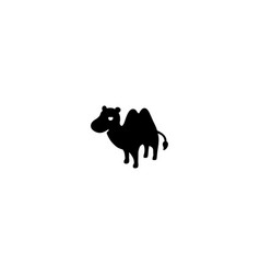 camel isolated icon vector image