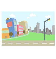Cartoon Buildings vector
