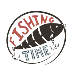 Fishing time vector