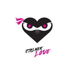 stalker love vector image