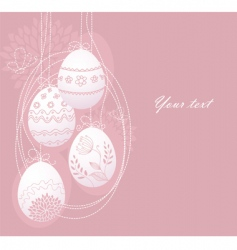 eggs back vector image vector image