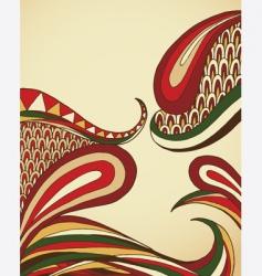 organic swirls vector image