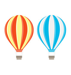 Aerostat balloon vector