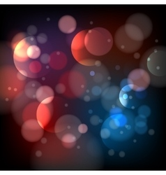 Defocused bokeh lights background vector