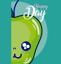 happy day card vector image