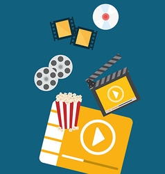 Movie digital design vector image