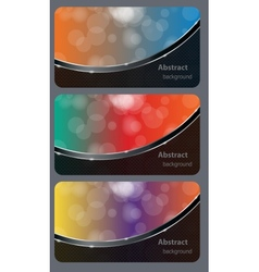 Brochure business card banner abstract background vector image vector image