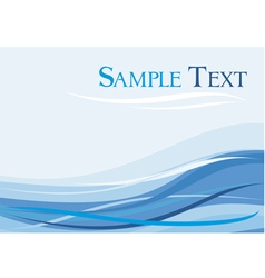 Abstract background blue background vector