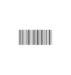Baecode symbol code bar icon scan sign in flat vector