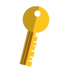 key secure isolated icon vector image