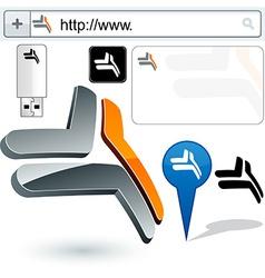 Original design element vector image