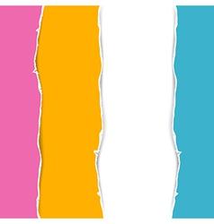 Retro Torn Paper Background vector