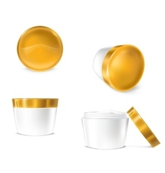 set of for cosmetics vector image