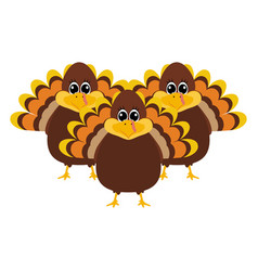 Turkey pilgrimin on thanksgiving day vector