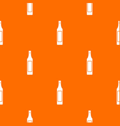 vinegar bottle pattern seamless vector image