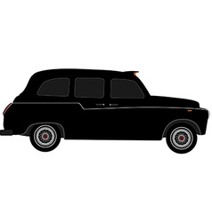 London taxi vector image